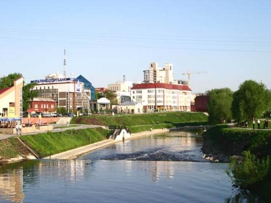 Набережная реки Исеть