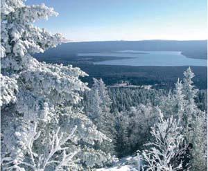 база Зютракуль зимой