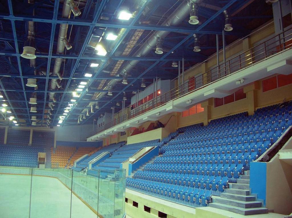 Ледовый дворец в Екатеринбурге