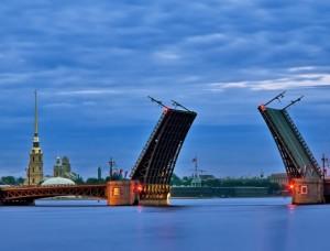 Санкт-Петербург – романтичный и красивый город