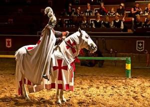Удивительное зрелище для туристов – турнир в Aldea Blanca
